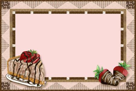 Free Dessert Border Cliparts, Download Free Clip Art, Free Clip Art.
