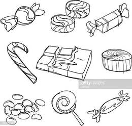 Free Chocolate Clipart black and white, Download Free Clip Art on.