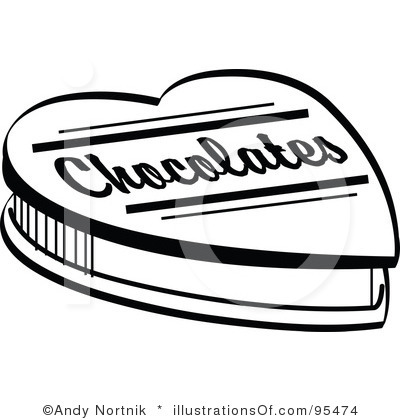 Chocolate clipart black and white 4 » Clipart Station.
