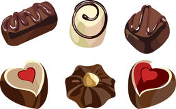 Praline Stock Illustrations.