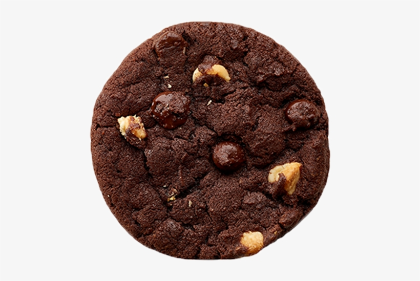 Double Chocolate Chip Cookie Transparent PNG.