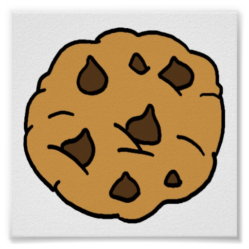 Oatmeal Chip Cookie Clipart.