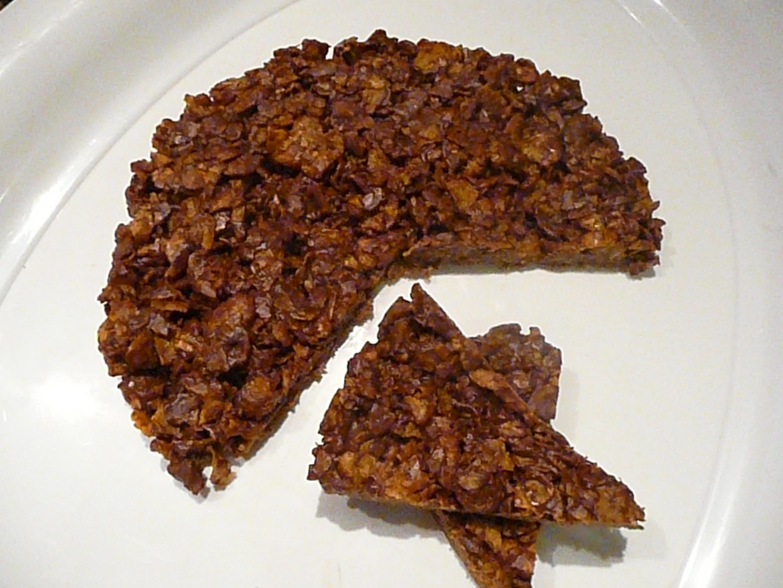 Recipe For Chocolate Rice Krispie Cakes.