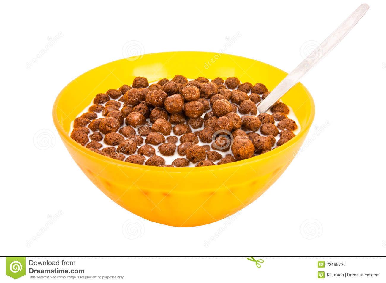 Spoon Chocolate Cereal Stock Photos, Images, & Pictures.