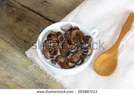 "chocolate Corn Flakes"" Stock Photos, Royalty."