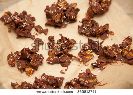 Sugar Cornflakes Stock Photos, Royalty.