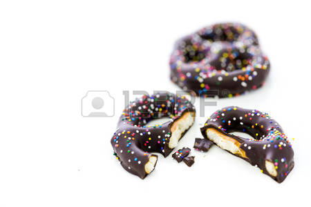 Chocolate Covered Pretzel Stock Photos Images, Royalty Free.