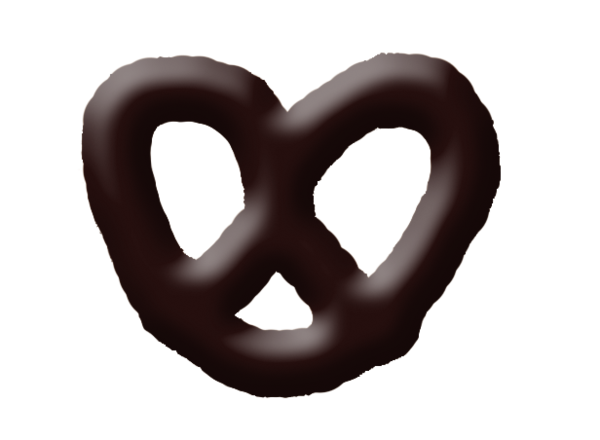 Large Pretzels Chocolate Covered Pretzels.