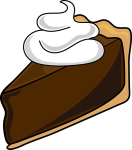 Chocolate Pie Clipart.