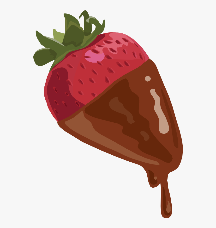 Strawberry Dipped In Chocolate.