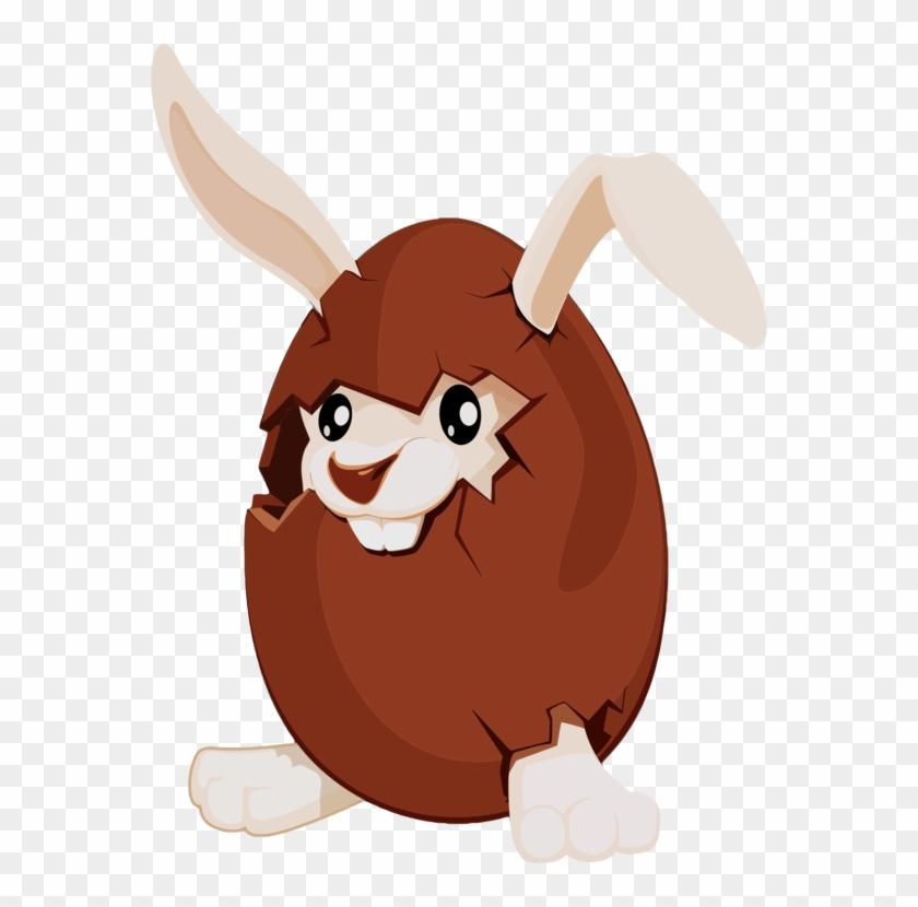 Easter Bunny Chocolate Bunny Easter Egg.