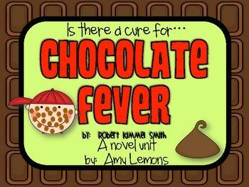 Chocolate Fever Novel Unit.