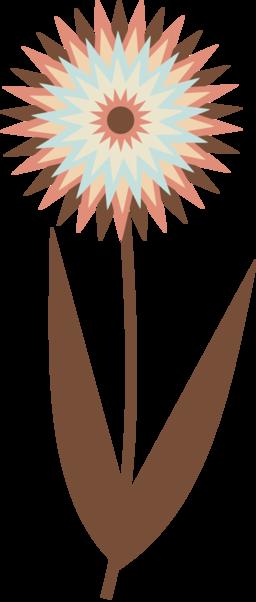 Chocolate Flower Clipart.
