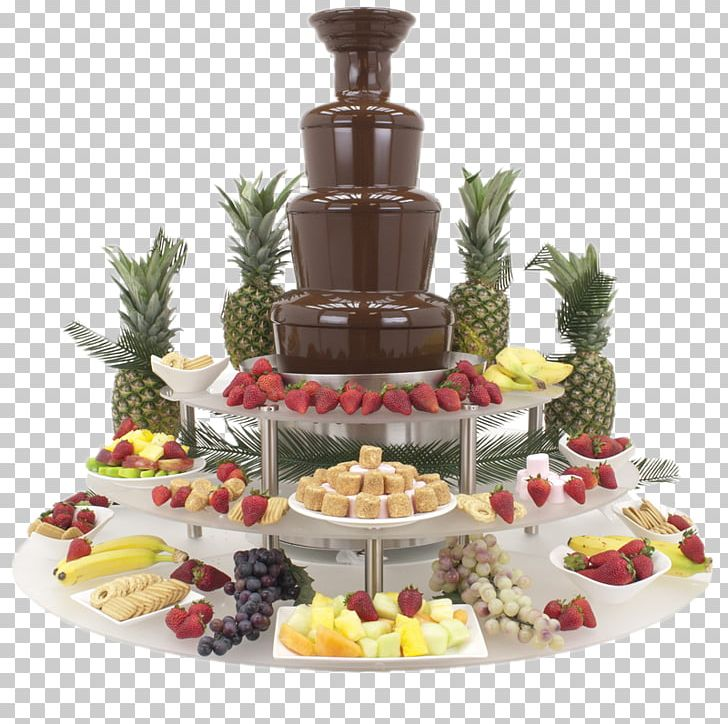 Fondue Buffet Chocolate Fountain PNG, Clipart, Buffet, Cake.