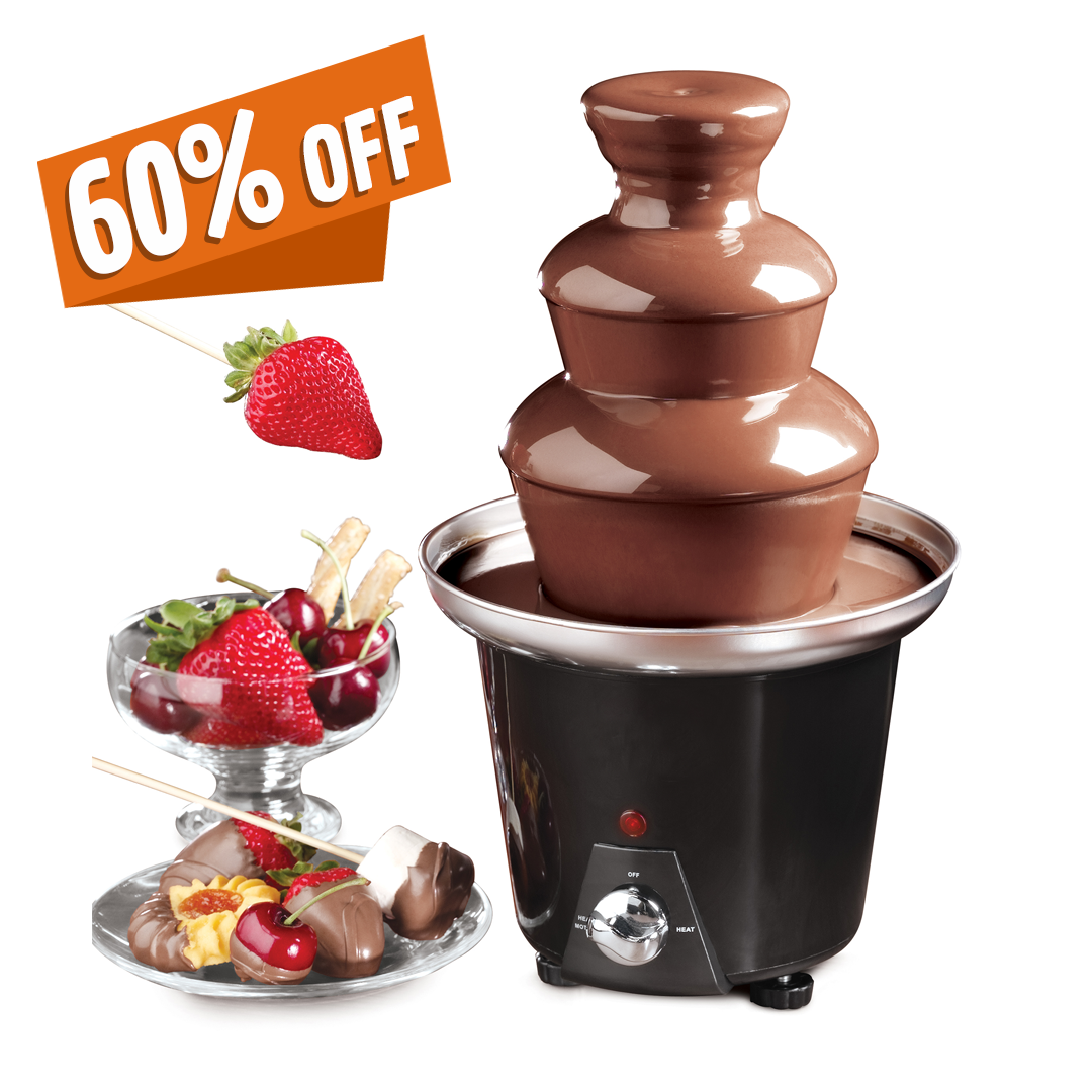 Mini Desktop Chocolate Fountain.