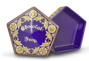 Details about Harry Potter Chocolate Frog Ceramic Jewelry Box Official  Warner Bros 12x12x4cm.
