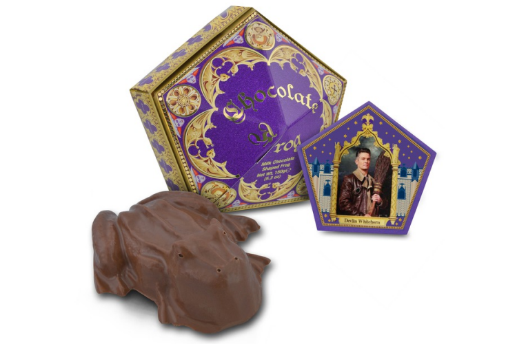 Potter Talk: New Chocolate Frog Card Released for Christmas 2018.