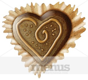 Chocolate Heart Clipart.