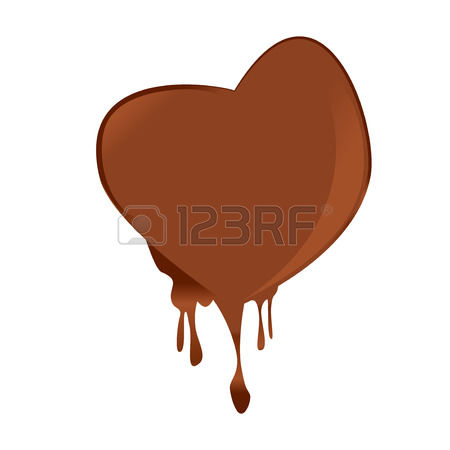7,989 Chocolate Heart Stock Vector Illustration And Royalty Free.