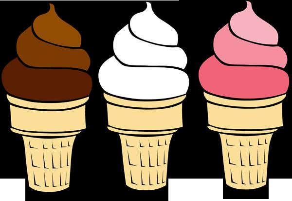 Chocolate Ice Cream Clipart.
