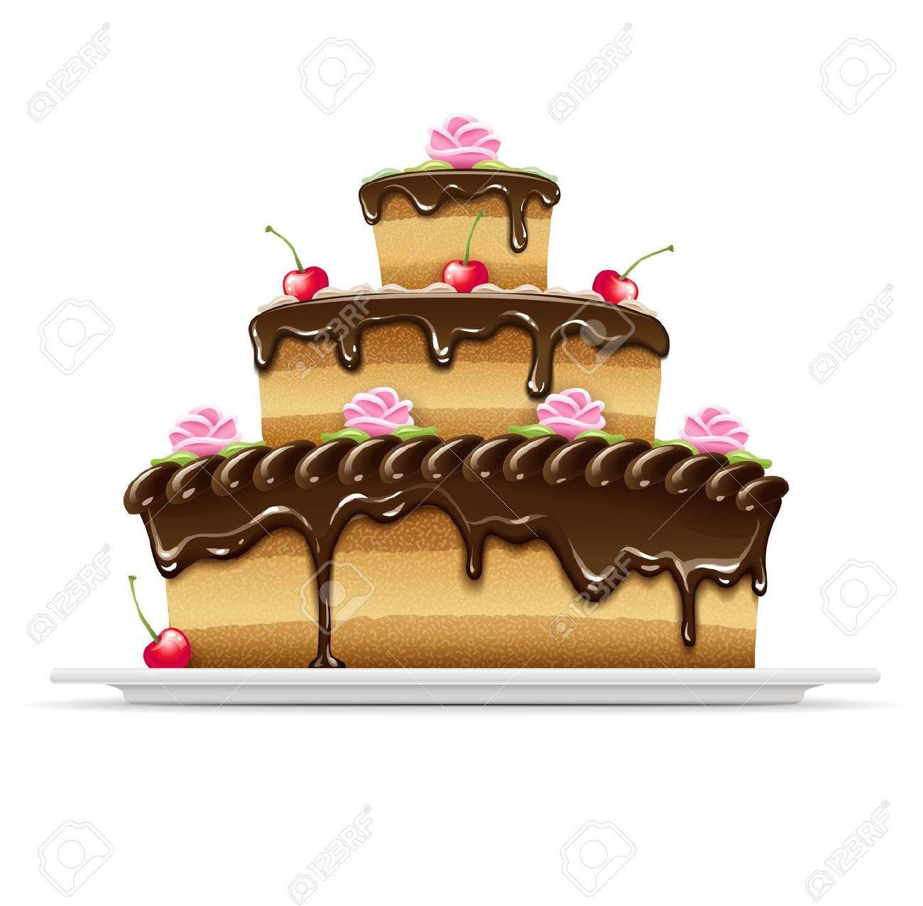 7,033 Chocolate Icing Stock Vector Illustration And Royalty Free.