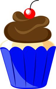 Cupcake Clipart Image.