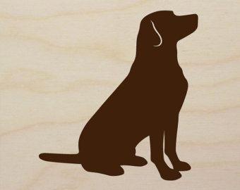 labrador silhouette clip art.