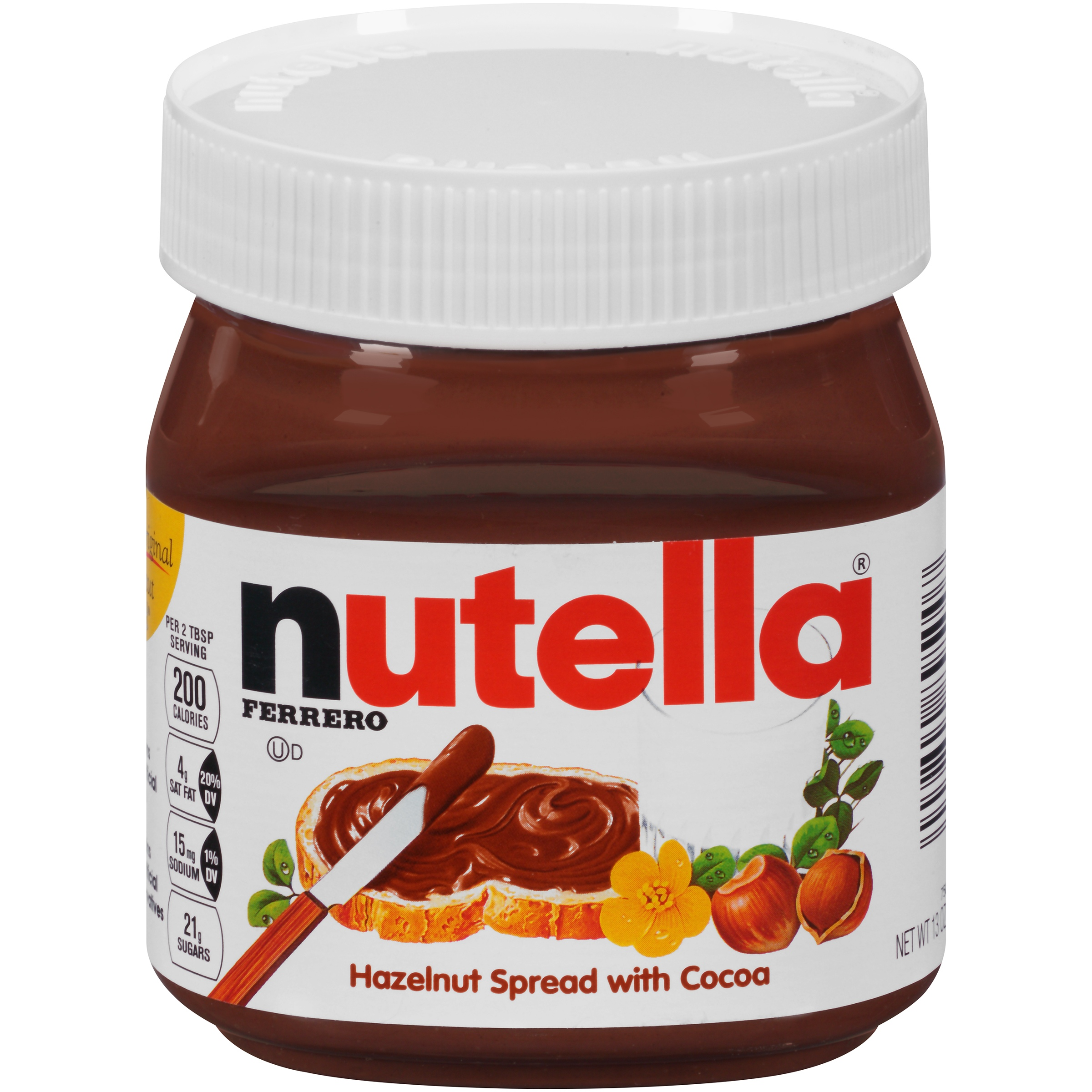 Nutella   Hazelnut Spread 13 oz. Jar.