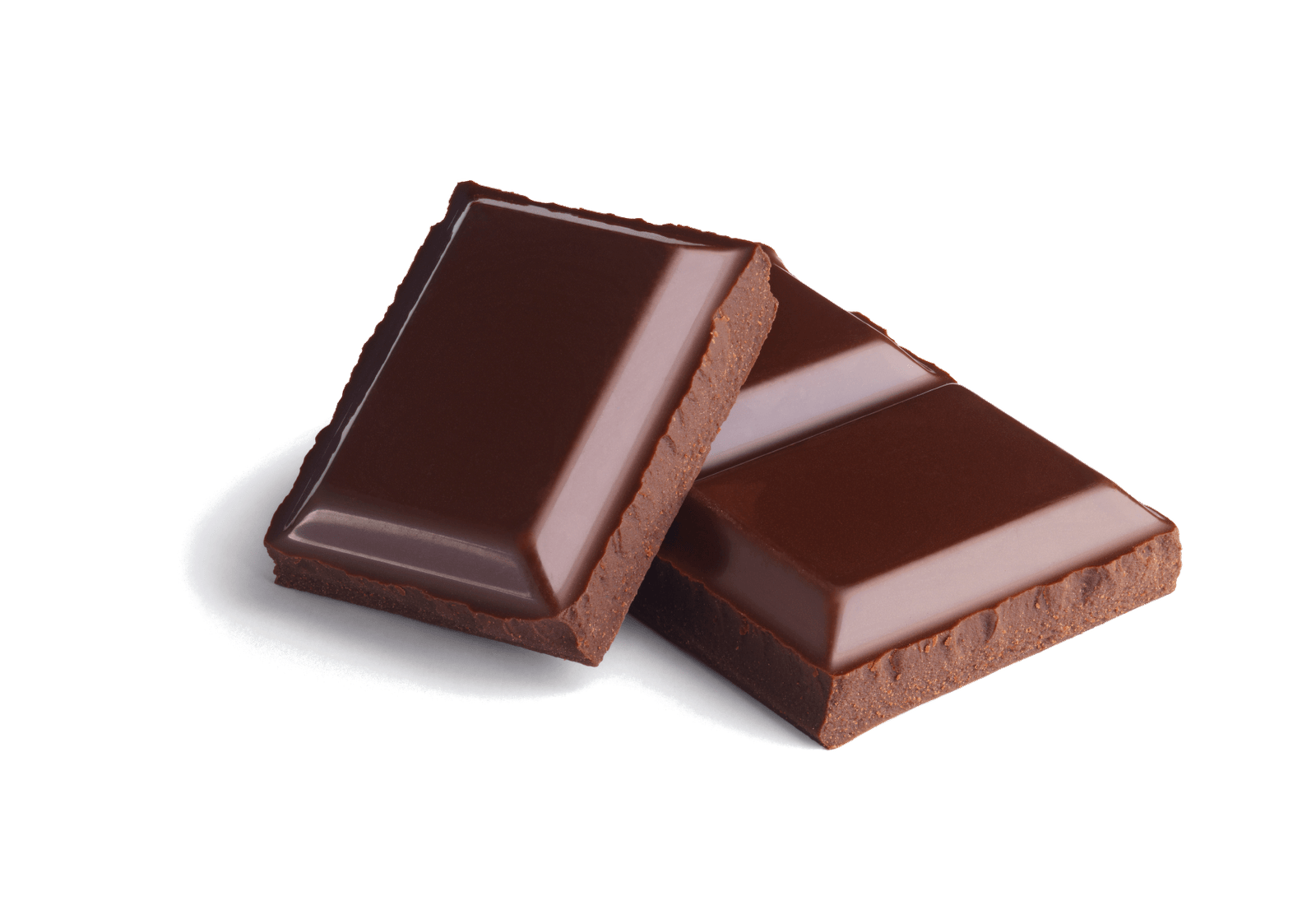 Chocolate Pieces transparent PNG.
