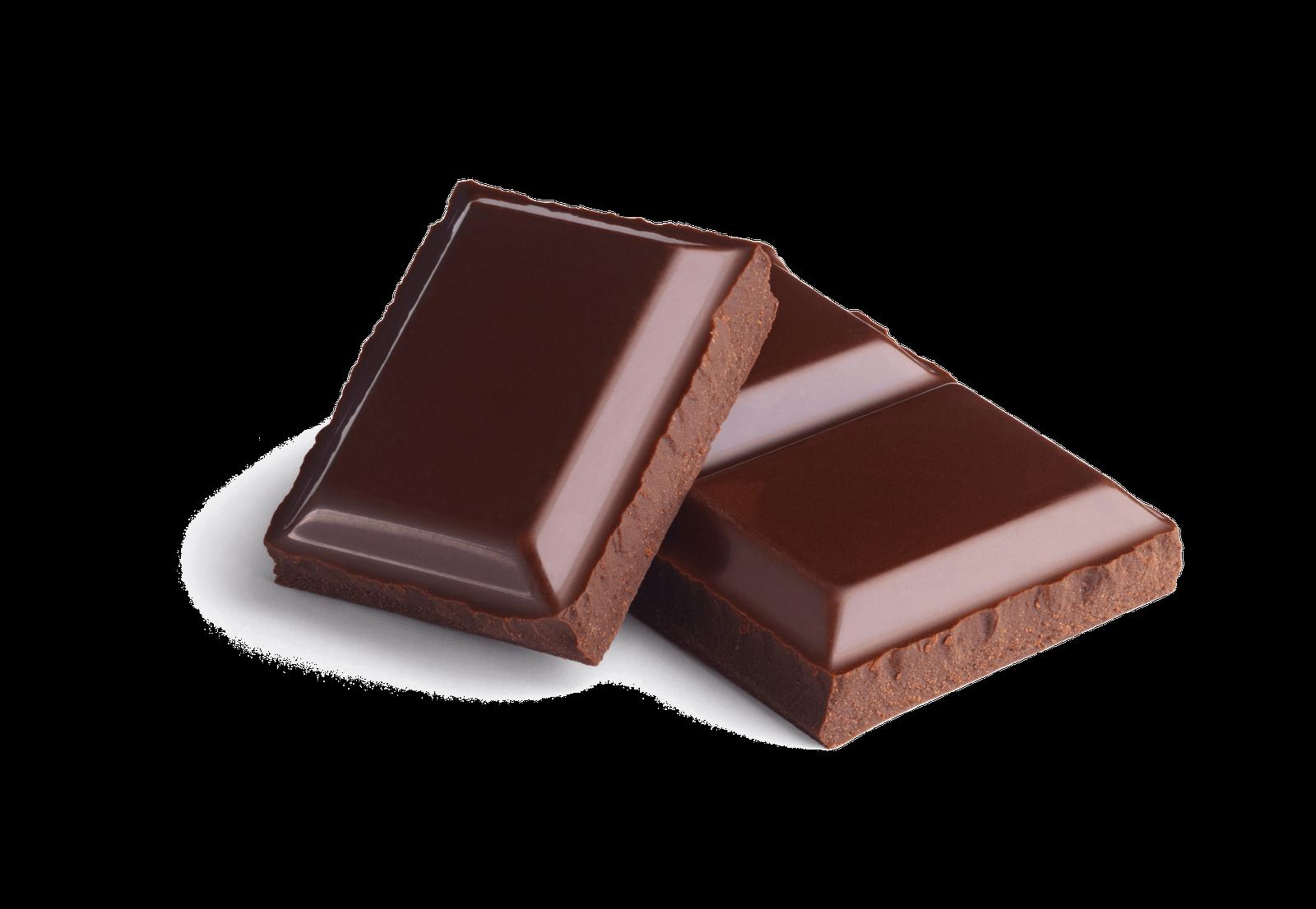 Chocolate Pieces transparent PNG.