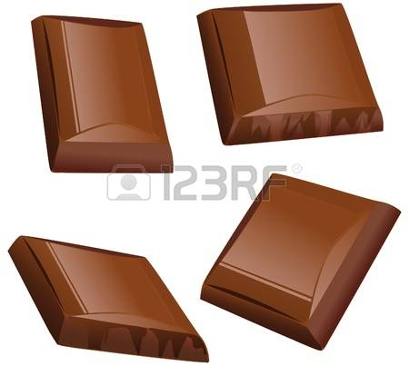 5,055 Chocolate Pieces Stock Vector Illustration And Royalty Free.