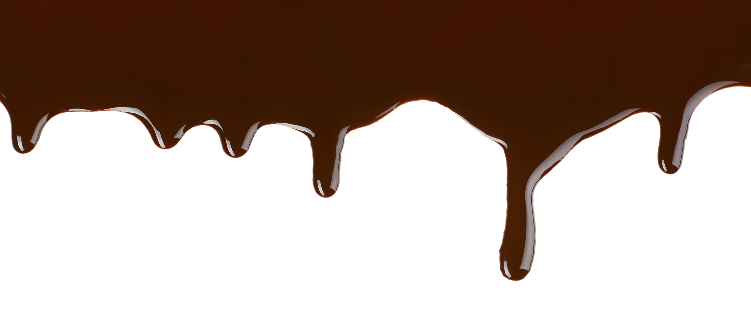 Melted Chocolate PNG Image.