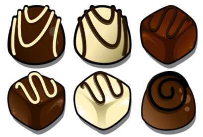 Chocolate Icons Pack Free Download, Free Chocolate ico and png icons.