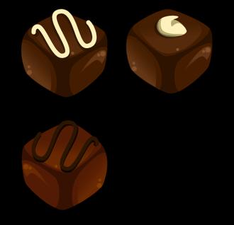 Chocolate Free Vector #36424.