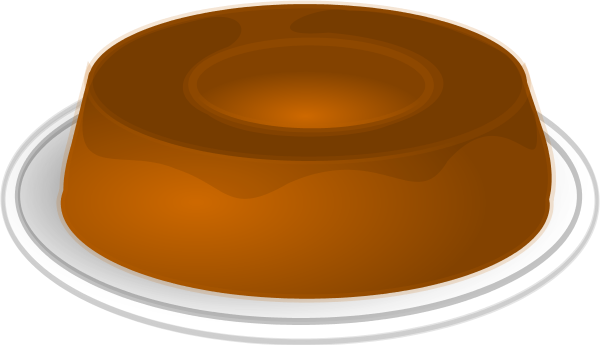 Pudding pictures clip art.