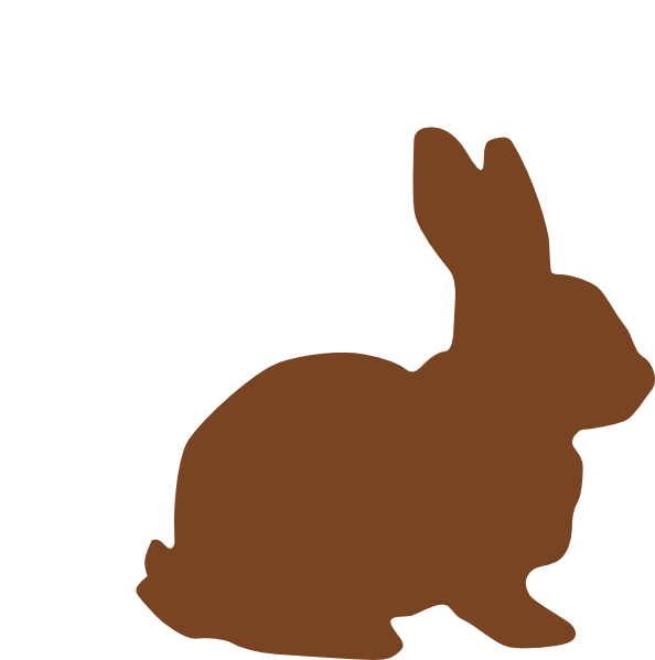 Chocolate Easter Bunny Clip Art at Clker.com.