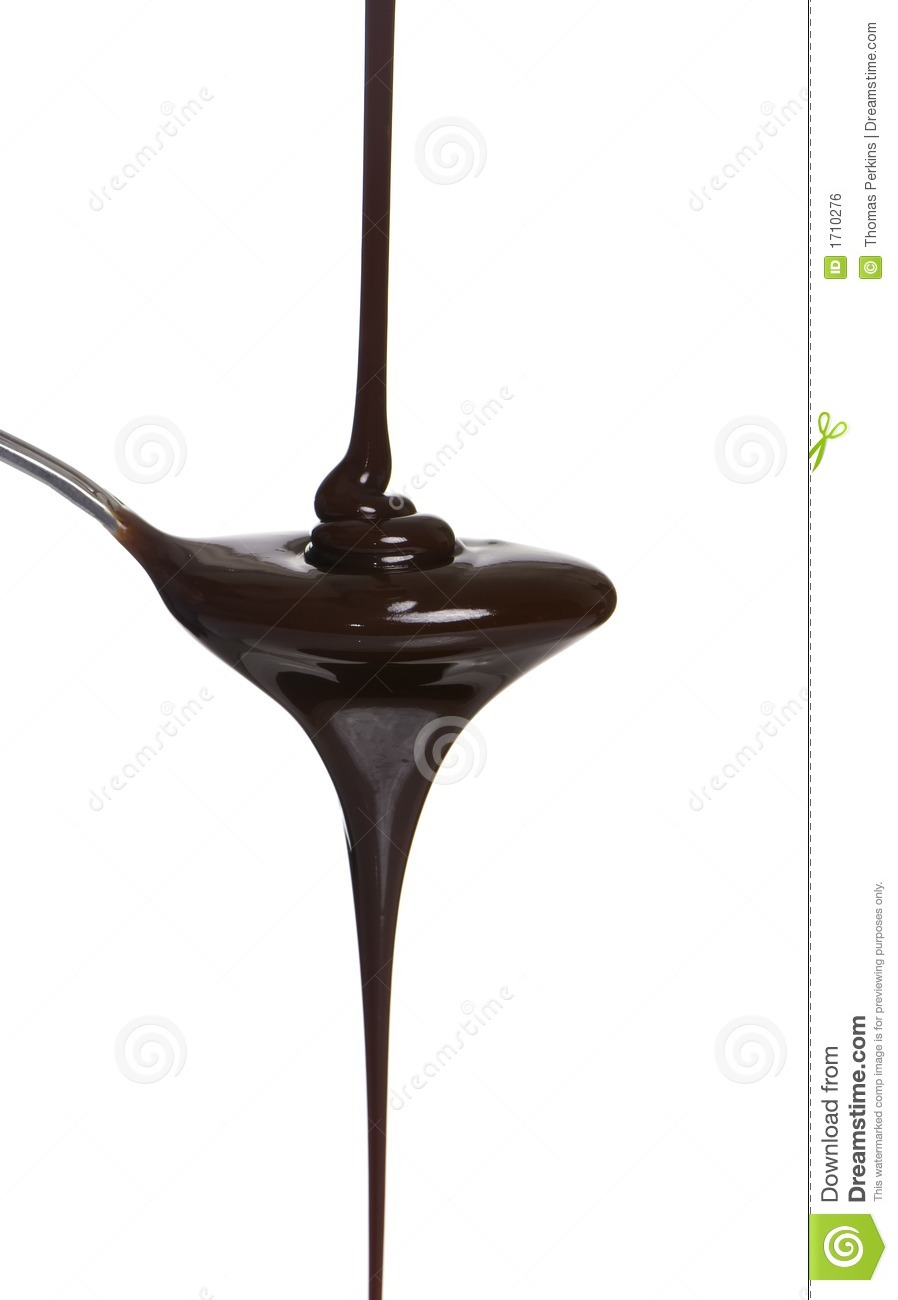 Chocolate Syrup Royalty Free Stock Image.