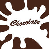 Clipart of Dripping Melted Chocolate Syrup k8068054.