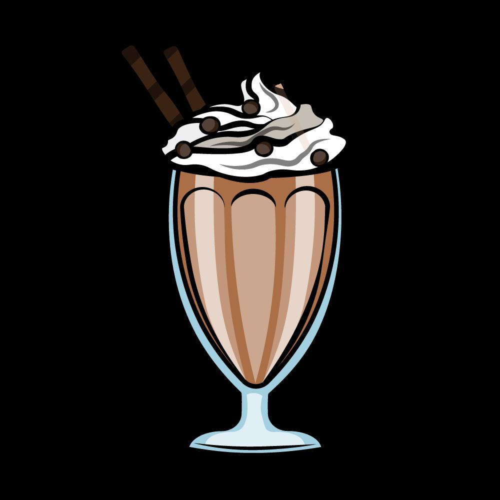 Chocolate milkshake.