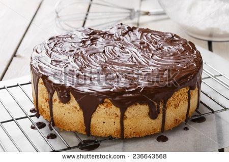 Baking Cake Stock Photos, Royalty.