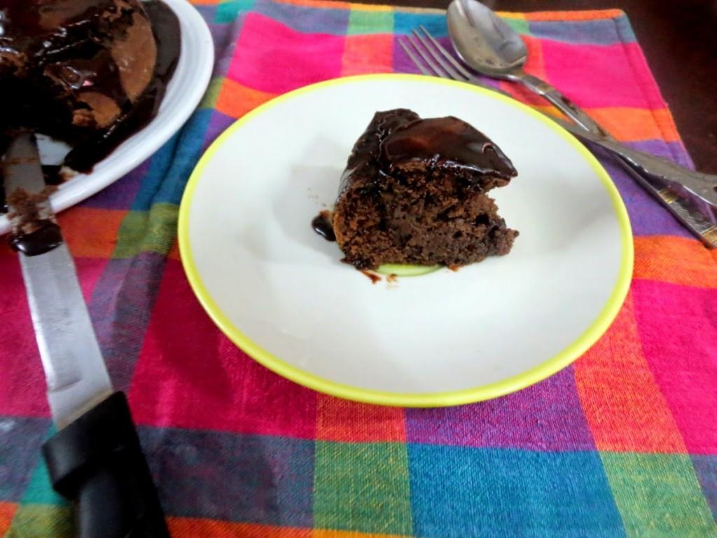 How to make Basic Eggless Chocolate Sponge Cake.