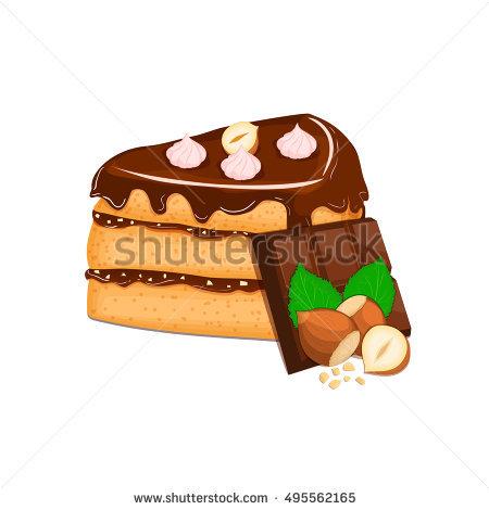 Sponge Cake Stock Illustrations, Images & Vectors.