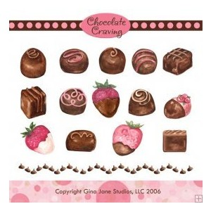 Chocolate Craving Clip Art, Graphics & Backgrounds Chocolate.