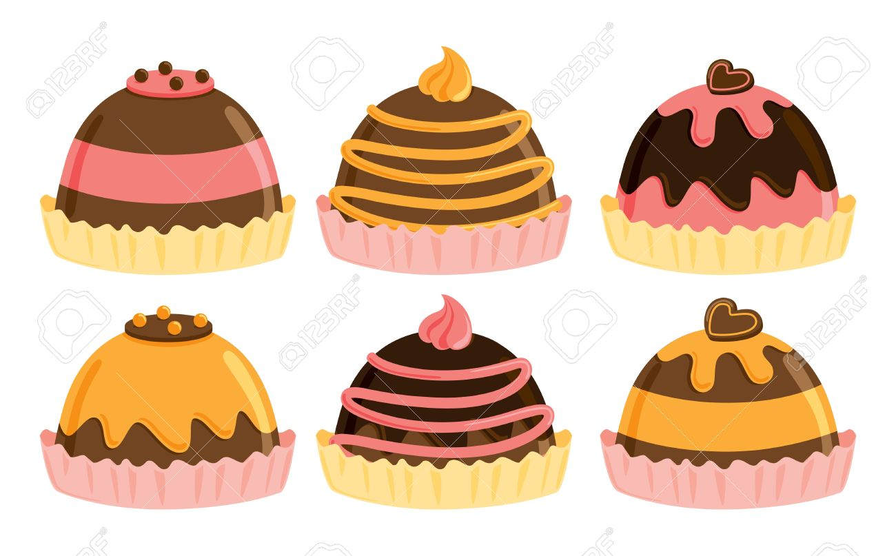 Chocolate Truffle Clipart.