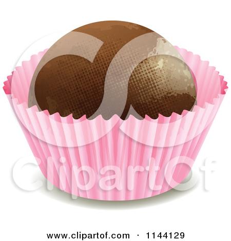 Truffles chocolates clipart #8