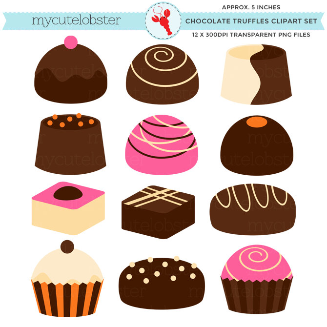 Chocolate Truffle Clipart Clipground