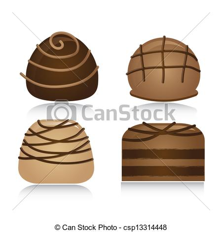 chocolate truffles clipart clipground