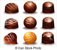 Chocolate truffles Vector Clipart Illustrations. 833 Chocolate.