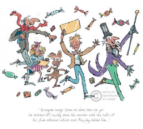 Roald Dahl & Quentin Blake.