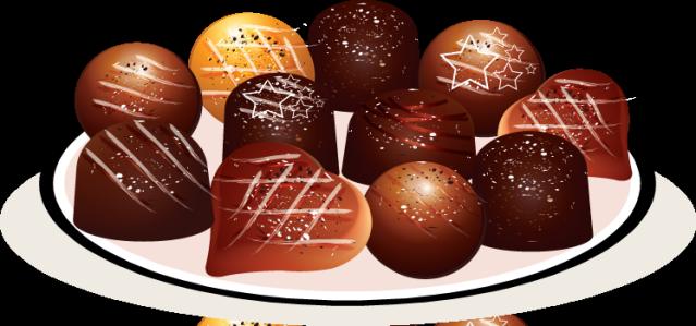 Chocolates clipart.
